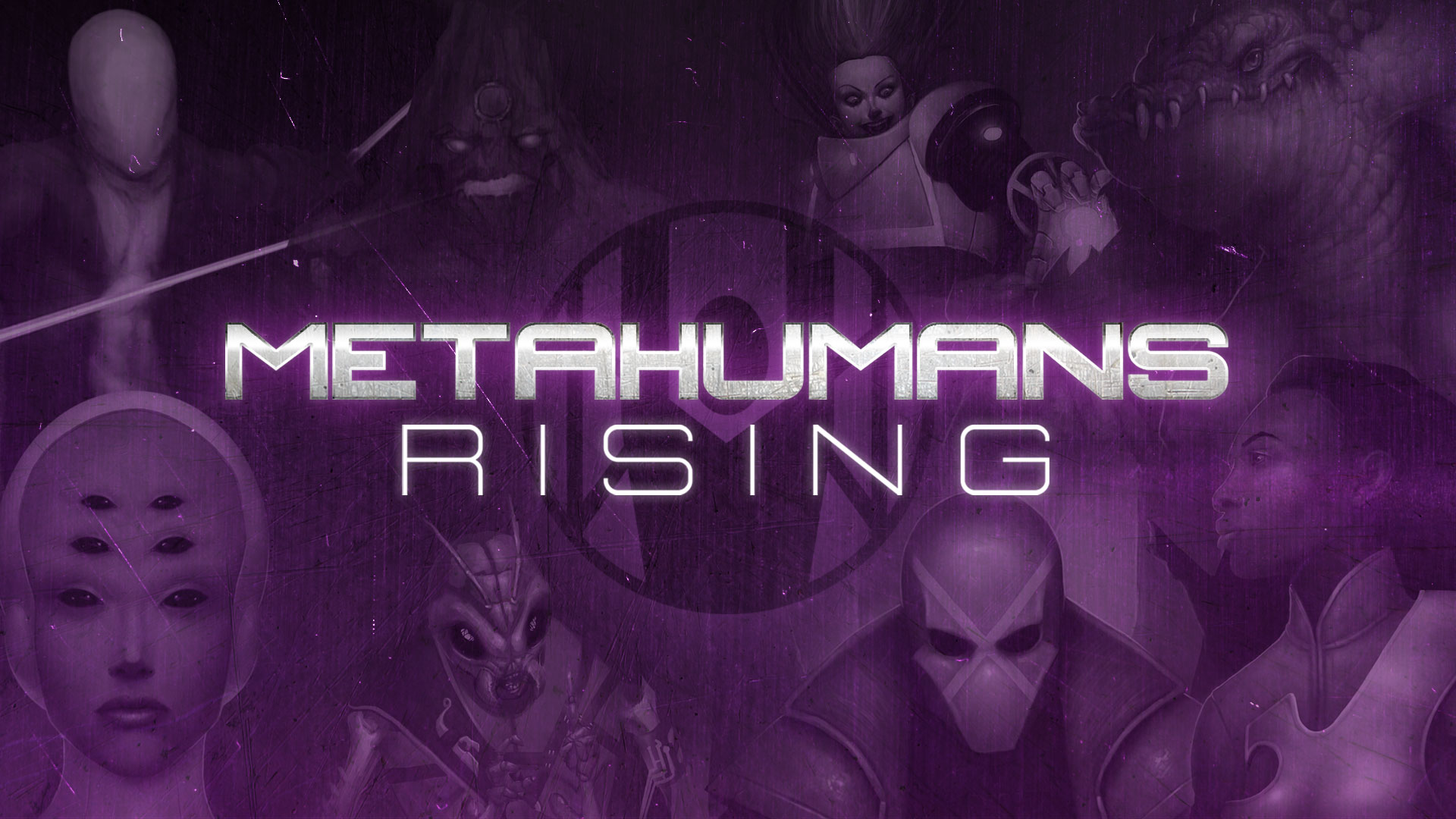 Metahumans Rising Kickstarter