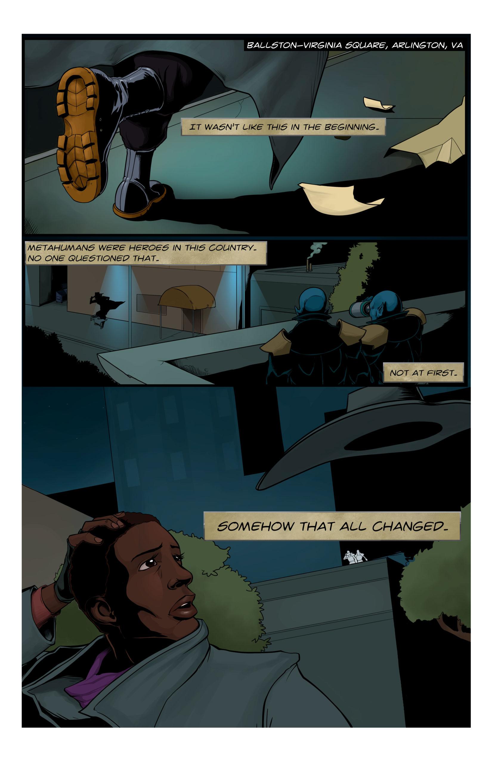 Playing Jacks, Page 1