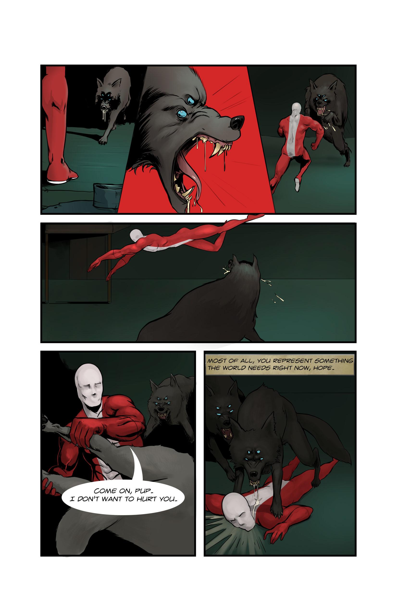 Playing Jacks, Page 9